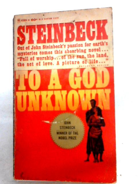 To a God Unknown by Steinbeck, John