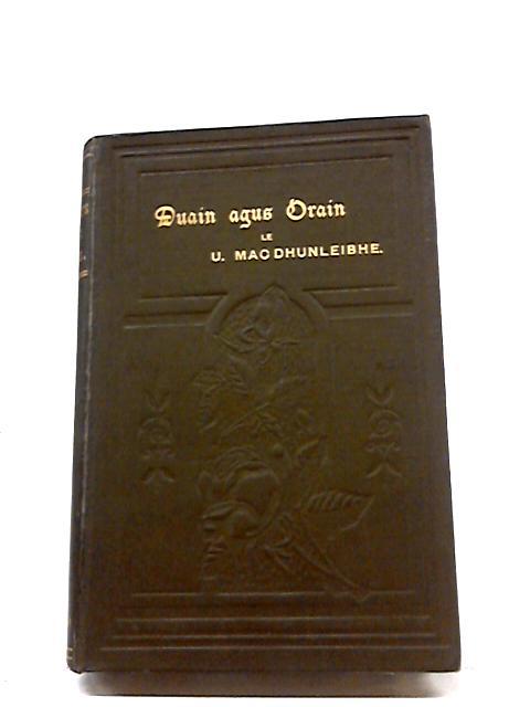 Duain Agus Orain Le Uilleam Mac Dhunleibhe by William Livingston