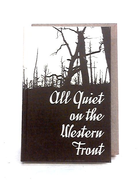 an analysis of the theme of all quiet on the western front by erich maria remarque A summary of motifs in erich maria remarque's all quiet on the western front learn exactly what happened in this chapter, scene, or section of all quiet on the western front and what it means perfect for acing essays, tests, and quizzes, as well as for writing lesson plans.