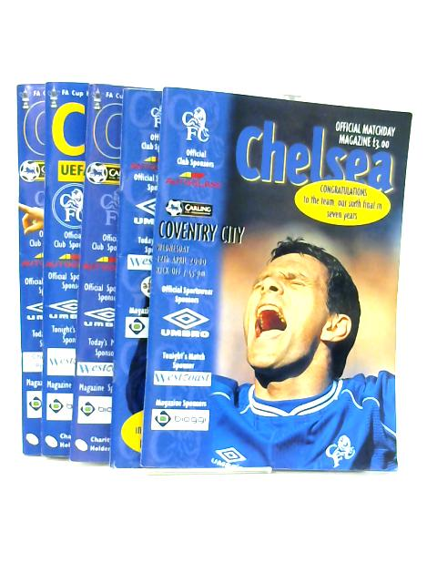 5 Official Matchday Magazines Of Chelsea Football Club From Season 2000 By Niel Barnett