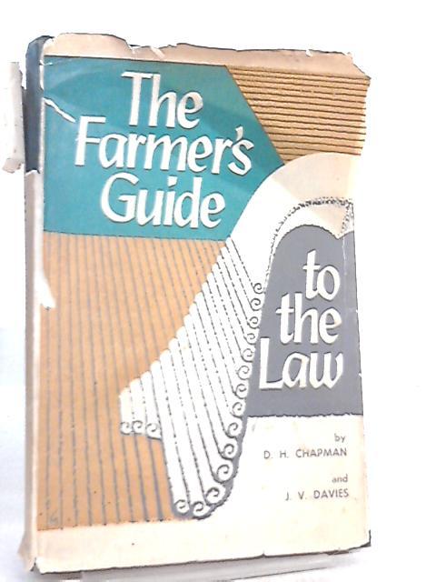 Farmer's Guide to the Law by Derek Harry Chapman