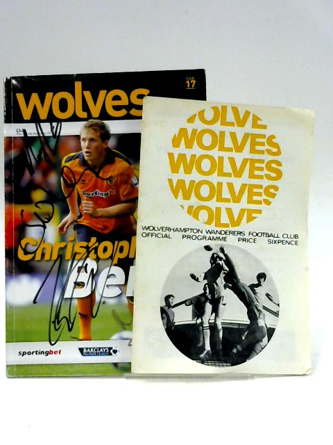 2x Wolverhampton Wanderers Official Matchday Magazine 5th Feb 2011 Vs Manchester United (signed) and Vs Coventry 1967 By Unknown