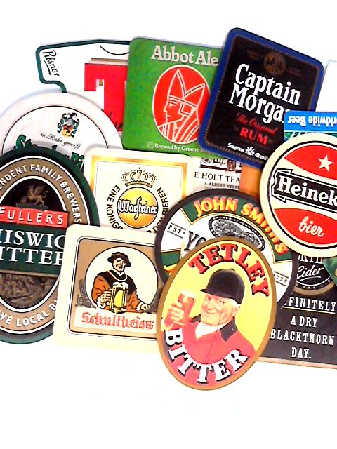 17 Assorted English and German Beer Mats By Anon