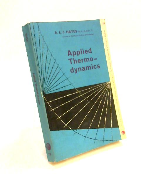 Applied Thermodynamics by A. Hayes