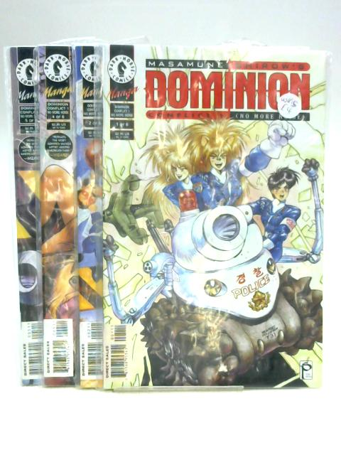 Dominion Conflict 1 (No More Noise) #1, 2, 4 & 5 by M. Shirow