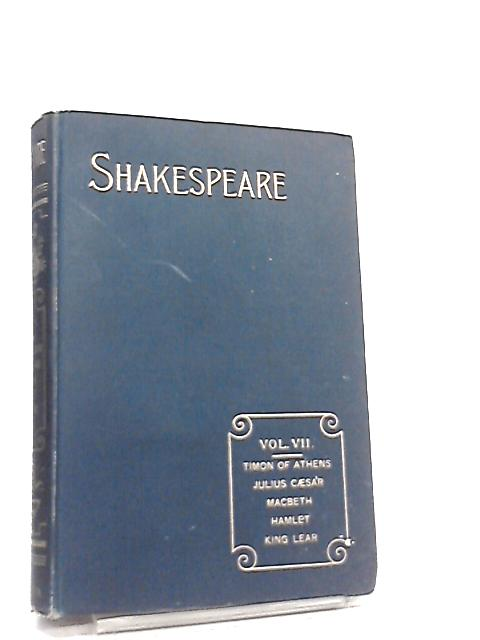 The Reader's Shakespeare, Shakespeare's Works. Vol VII Tragedies II by William Shakespeare