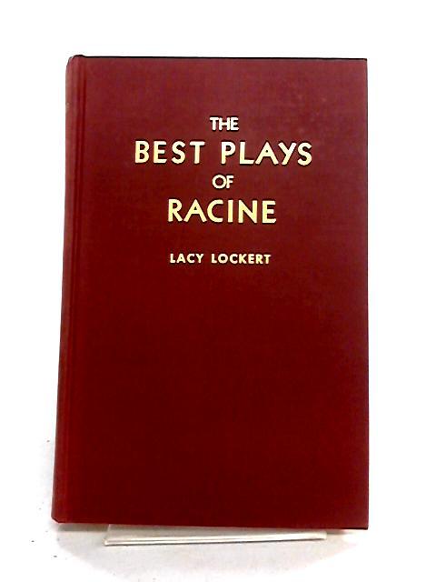 The Best Plays of Racine by Jean Racine