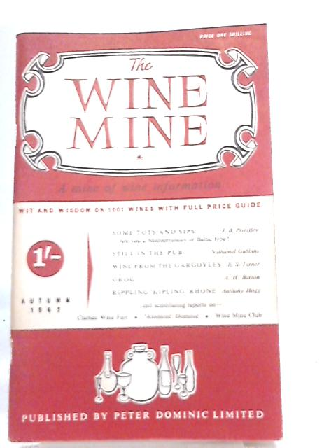 Wine Mine Autumn 1962 By Anthony Hogg