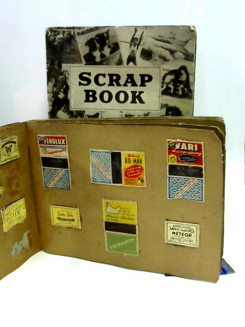 Set of Two Scrapbooks Containing Matchbox Covers By Unknown
