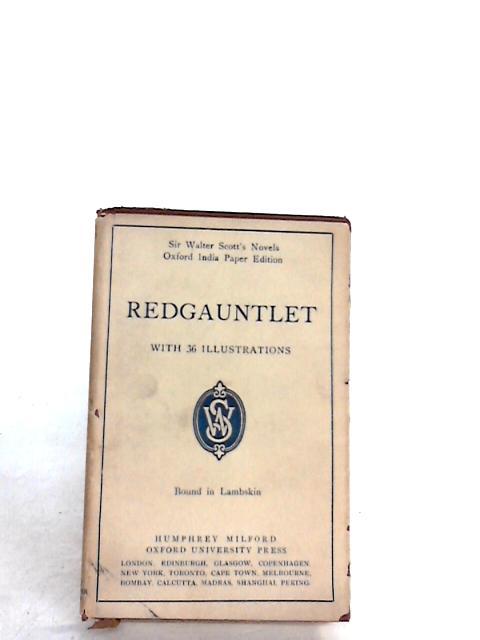 Redgauntlet by Scott, Walter