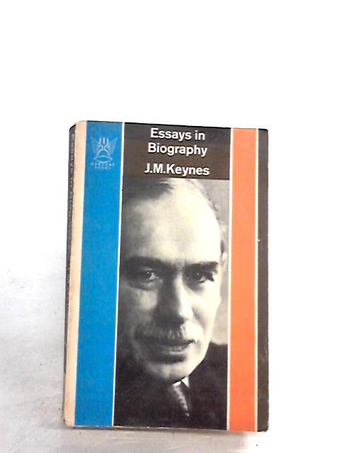Essays in Biography (Mercury Books; No. 7) by Keynes, John Maynard; Keynes, Geoffrey (ed.)