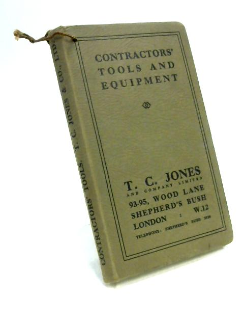 Contractors' Tools and Equipment by Unknown