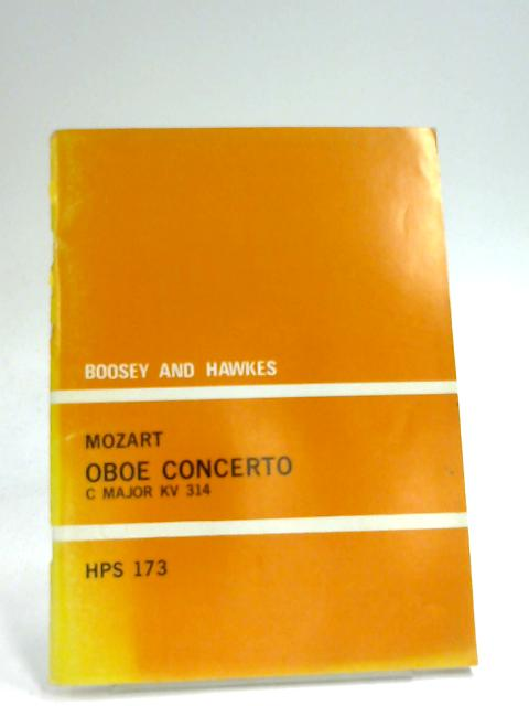 Concerto for Oboe and Orchestra by Wolfgang Amadeus Mozart