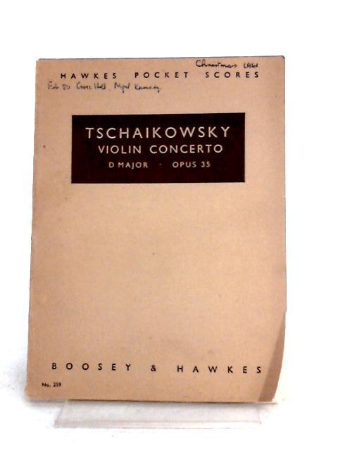 Tschaikowsky: Violin concerto D' Major Opus 35 by Tschaikowsky