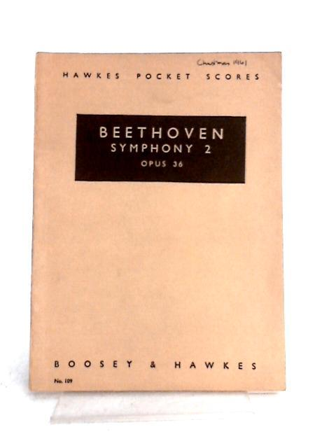 Symphony 2 Opus 36 By Beethoven