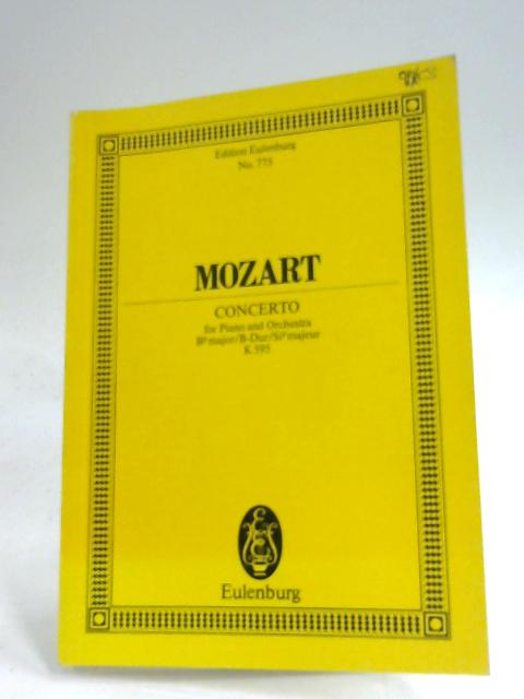 Mozart Piano Concerto B Flat Major K595 by Wolfgang Amadeus Mozart