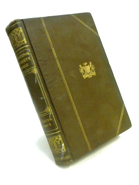 International University Reading Course Volume V by E. Barker