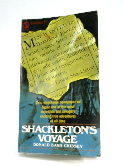 Shackleton's Voyage by Donald Barr Chidsey