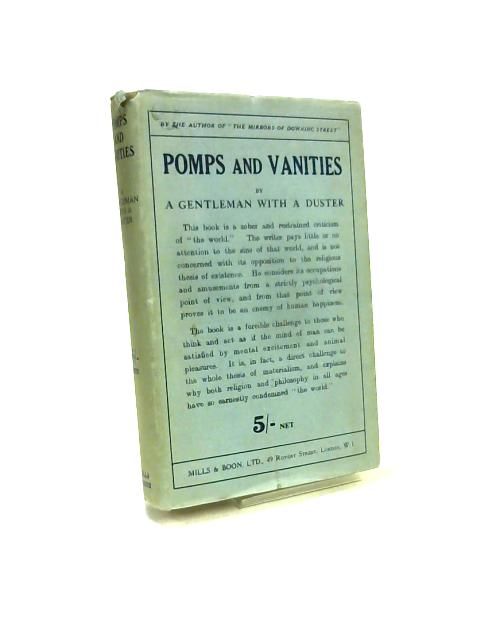 Pomps and Vanities by Gentleman with a Duster