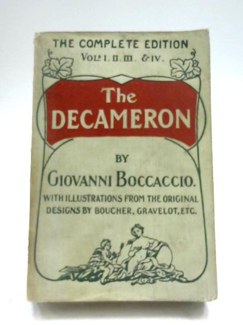 The Decameron by M. Giovanni Boccaccio