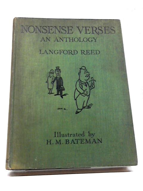 Nonsense Verses An Anthology by Langford Reed