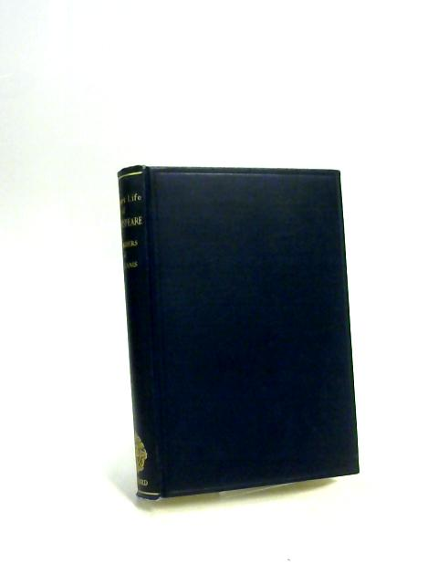 Short Life of Shakespeare with Sources By E. K. Chambers