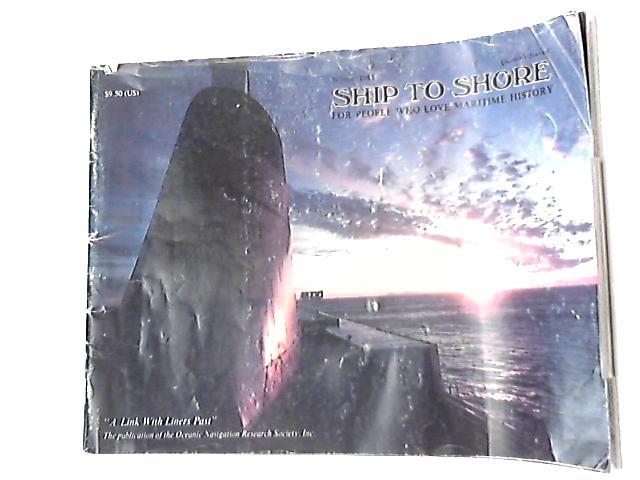 Ship to Shore Winter 1985 Volume 6 No. 1 by Anon