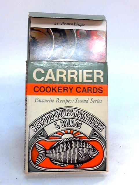 Robert Carrier Cookery Cards By Robert Carrier