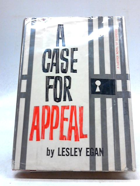 A Case For Appeal by Lesley Egan