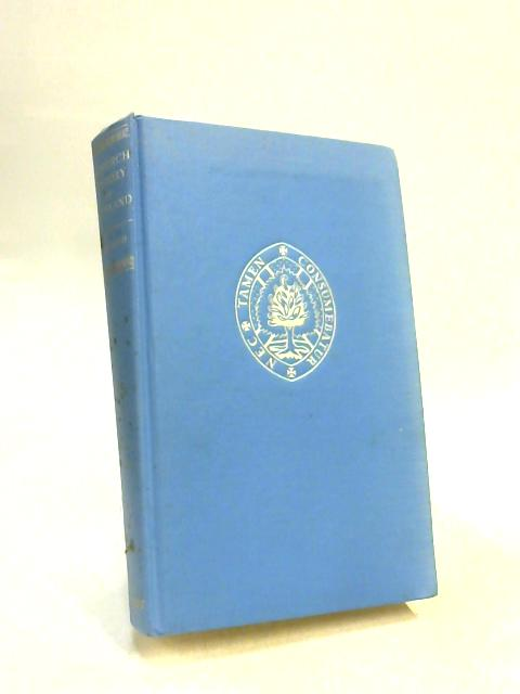 Church History of Scotland by J.H. S. Burleigh