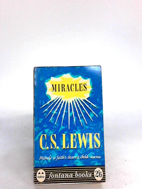 Miracles by Lewis, C.S.