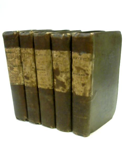 The Dramatic Works of Shakespeare Vols 4, 5, 6, 7 & 8 by Johnson & Steevens