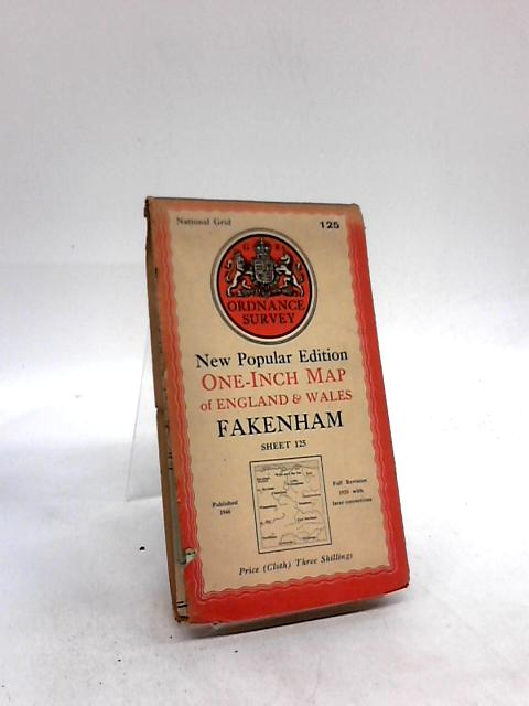One-Inch Map Of Great Britain, Sheet No. 125: Fakenham By Anon