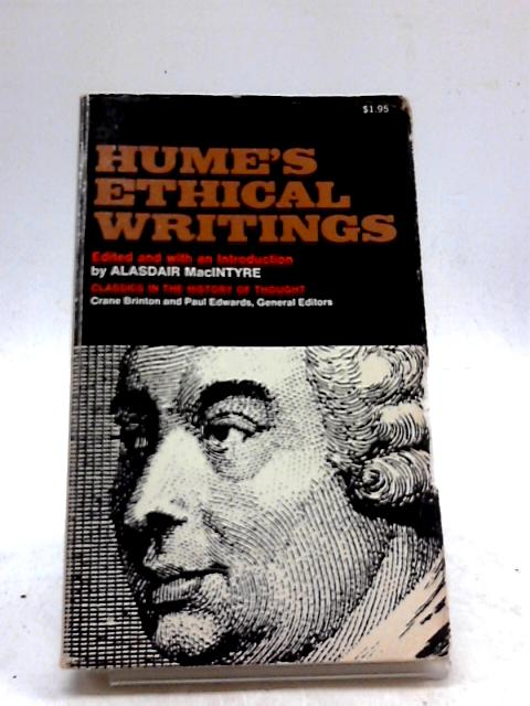 Hume's Ethical Writings By David Hume