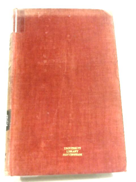 Manchester and the Movement for National Elementary Education 1800-1870 By S. E. Maltby