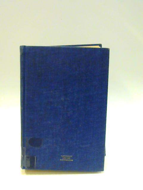 A Bibliography of North Carolina, 1589-1956 By Unknown