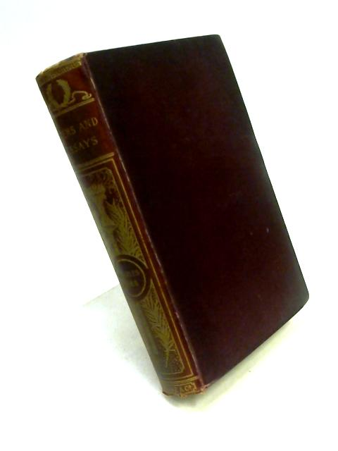 Poems and Essays of Charles Lamb By Charles Lamb
