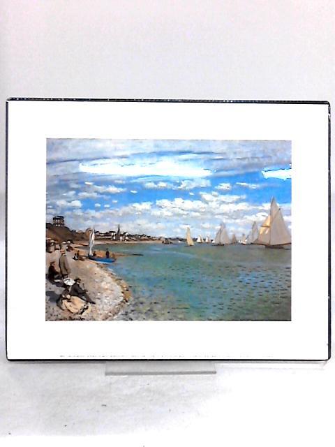 La Plage de Sainte Adresse- Beach Scene Print By Claude Monet
