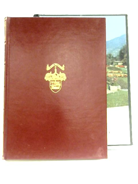 Catalogue Of The Plants In The Gardens Of The Villa Taranto By Neil McEacharn