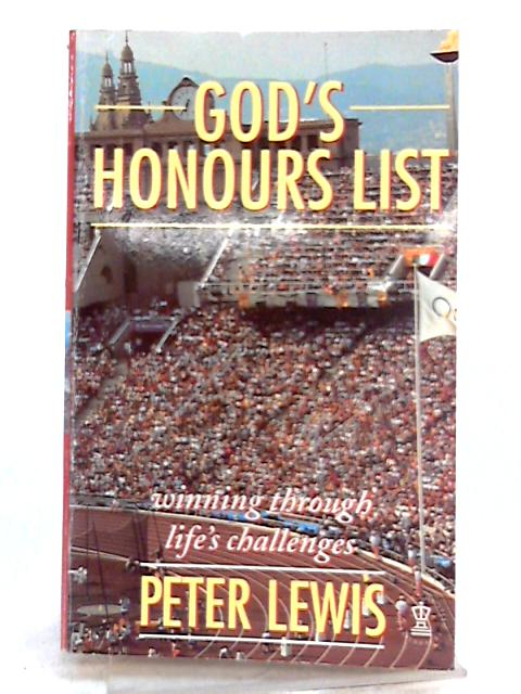 God's Honours List By Peter Lewis