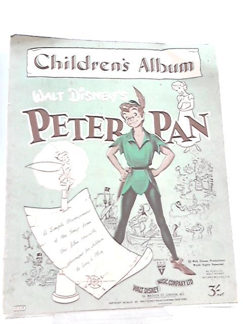 Walt Disney's Peter Pan Children's Album By Sammy Cahn et al