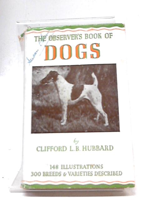 The Observer's Book Of Dogs by Hubbard