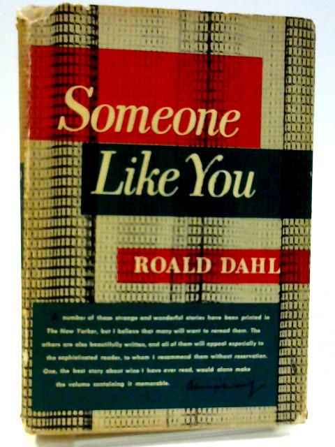 Someone Like You by Dahl, Roald