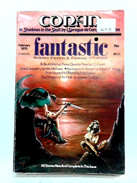 Fantastic Stories magazine 1975 Feb Vol 24, No 2 by Various