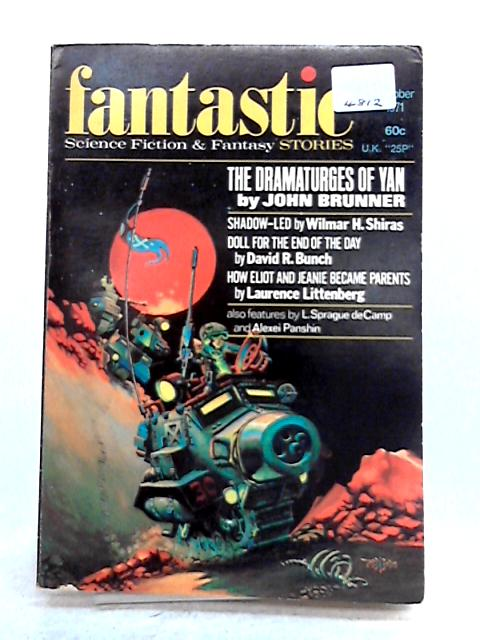 Fantastic Stories Magazine Oct 1971 Vol 21, No 1 by Various