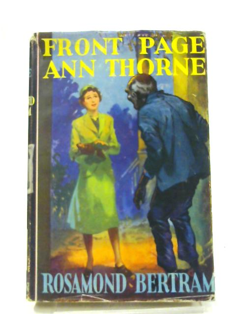 Front Page Ann Thorne by Rosamond Bertram