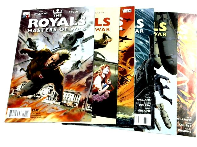 The Royals: Masters Of War - Vols. 1-6 by Rob Williams & Simon Coleby