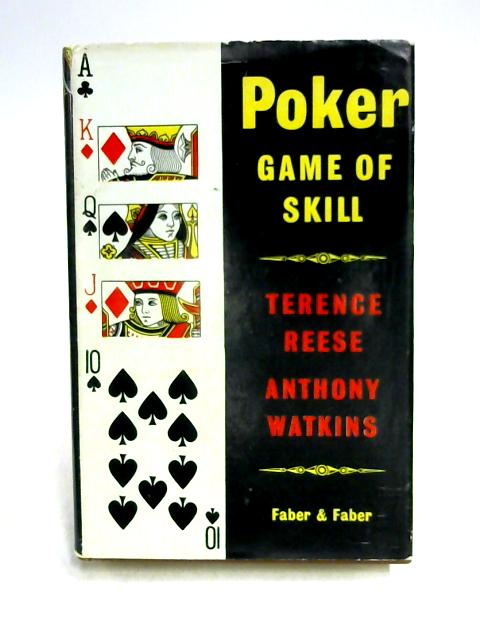 Poker Game of Skill by Reese & Watkins