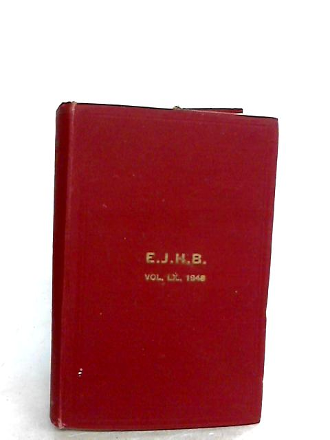 The English Jersey Herd Book Volume LX 1948 by Unknown