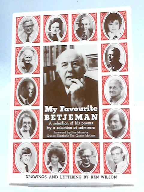 My Favourite Betjeman by John Betjeman